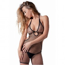 Sexy Bodystocking Open Back And Shorts
